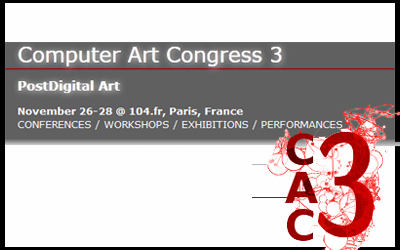 Computer Art Congress 2012